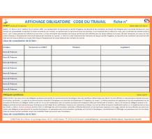 Affichage obligatoire d l gu s du personnel chsct for Reglement interieur entreprise pdf